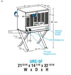 Hoshizaki URC5F